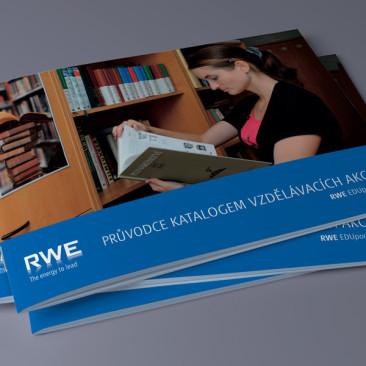 RWE průvodce katalogem vzdělávacích akcí